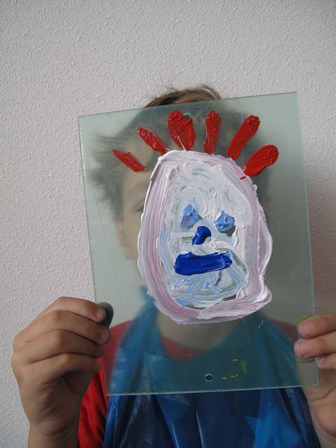 fascinatio, portret met zelfportret